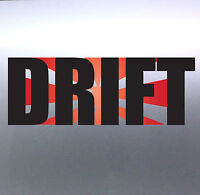 Drift with Rising Sun Race Sport Car vinyl Sticker 210×80mm aussie made & design