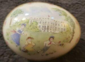 1984 Lenox Easter egg (24kt banded)