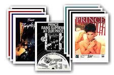PRINCE - 10 promotionnel affiches - de collection lot carte postale # 3