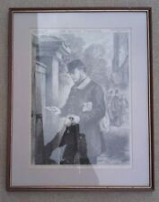 More details for antique postal history print - the british workman - no. 135, march 1st 1866