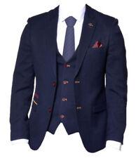 Costumes bleus pour homme, taille 52