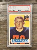 1956 Topps Stan Jones PSA 5 Rookie #5 RC