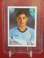 Federico Valverde Uruguay Real Madrid Copa 2019 Panini Rookie Sticker