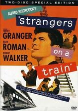 2 Dvd Hitchcock's Strangers on a Train: Farley Granger Ruth Roman Robert Walker