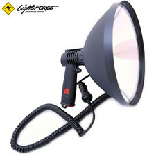 Lightforce 240 Blitz hunting lamp with curly cord and cigarette lighter socket