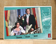 ETERNA ARMONIA poster fotobusta Muni Merle Oberon Chopin A Song to Remember F93