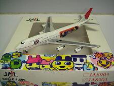 "NM Netmodels 500 Japan Airlines JAL 747-400D ""Tamagotchi Jet 2007"" 1:500"