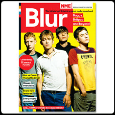 NME Special Collectors Magazine BLUR,Damon Albarn,Alex James,Graham Coxon NEW