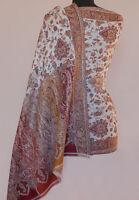 Hand-Cut Kani Wool Shawl. Detailed Design Paisley Jamavar Jamawar Stole Pashmina