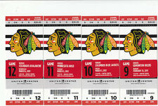 1 CHICAGO BLACKHAWKS VS EDMONTON OILERS TICKET STUB 2/25/13 3-2 OT WIN KANE GOAL