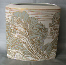 Rechteckige Vase 24 cm Rosenthal Dekor Ernst Fuchs