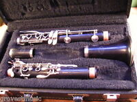 Vintage Evette Schaeffer Bb Clarinet by Buffet-K Series-Overhauled! EXCELLENT!