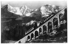 Ak, mürrenbahn, tren, viaducto para 1930