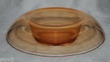 Fostoria AMBER PIONEER 11-inch Rolled Console Dish