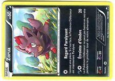 POKEMON (NOIR & BLANC) EXPLORATEURS OBSCURS N°  70/108 ZORUA