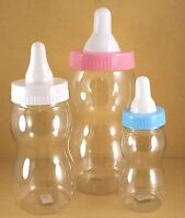 1 - FILLABLE Baby Shower BOTTLE BANK Favor CHOOSE SIZE and COLOR
