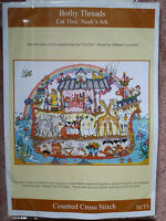 Bothy Threads Cut Thru' Noah's Ark Cross Stitch Brand New Kit