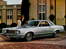1975 Mercury Monarch Coupe, Refrigerator Magnet, 40 MIL