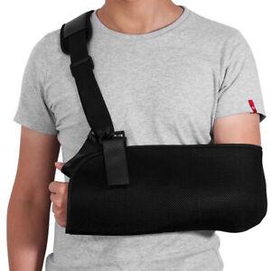 Shoulder Arm Sling Elbow Support Wrist Wrap For Broken Fracture Injury Relief UK
