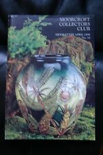 Moorcroft Collectors Club Newsletter April 1998 No. 18