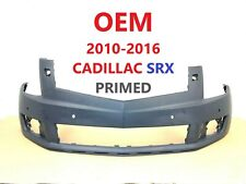2010-2016 cadillac SRX front bumper cover w/ sensor holes & w/ washer holes #1