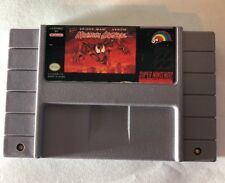 Marvel Spiderman Venom Maximum Carnage Snes Grey Loose Cartridge Tested Free S&h