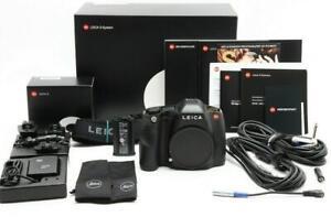 Near Mint Leica S (Typ 007) Medium Format DSLR Camera Body 1042 Actuations 33313
