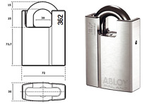 Abloy 362  Padlock Protec 2