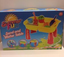 Summer Fun Sand and Water Table Great on The Beach or in Garden Ty1987