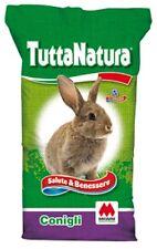 tuttanatura mignini mangime conigli criceti roditori omegalin mono-alimento 25kg
