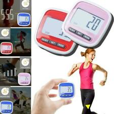 Large LCD Waterproof Step Pedometer Sport Calorie Counter Walking Distance T1S0