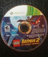 Lego Batman 2 DC Super Heroes Xbox 360 Microsoft Disc Only TESTED Rare