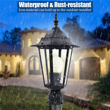 40W Outdoor Lantern Light LED Garden Lamp Yard Patio Pillar Candle