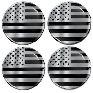 4 x 65mm USA America Flagge Aufkleber für Nabendeckel Felgendeckel Nabenkappen