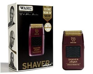 Wahl Professional 5-Star Series Rechargeable Shaver/Shaper #8061-100 Close Shave