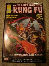 Deadly Hands of Kung-Fu Omnibus Vol 2 Sealed 1st Print Shang Chi Iron Fist