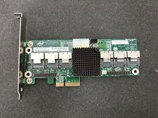 Intel 24 port 6 Gb/s SATA SAS RAID Expander Card PBA E91267-203 RES2SV240