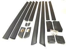 AUDI 100 c4 1991-97 PORTE consente ritagliare Modanature Modanature e protezione in gomma Set