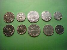SET POLINESIA POLYNESIA FRANCESA 2008-2009 (1,2,5,10 y 20 Francos) S/C UNC