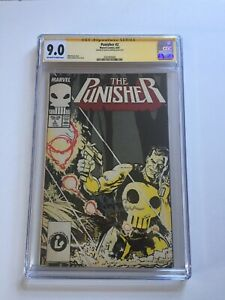Punisher #2 SS CGC 9.0 Signed by Klaus Janson Classic Punisher Artist Bronze Age