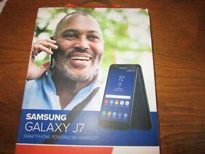 "NEW SAMSUNG GALAXY J7 CONSUMER CELLULAR SMARTPHONE 5.5"" 32GB"