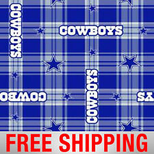 "Fleece Fabric Dallas Cowboys NFL Anti Pill 60"" Wide Free Shipping Style DAL-6391"