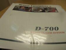 Monaco Enterprises D-700 RadioAlarmManual.