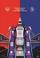 * 2020 FA CUP FINAL OFFICIAL PROGRAMME - ARSENAL v CHELSEA (1st August 2020) *