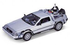 Welly Ritorno al Futuro 2 Delorean TIME MACHINE scala 1/24 modello Pressofuso Auto