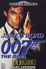## James Bond 007: The Duel - SEGA Mega Drive / MD Spiel - TOP ##