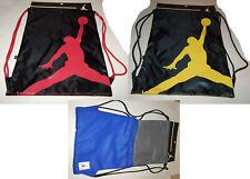 Nike Jordan Jumpman Backpack / Sackpack 3 Colors School Gym Travel Book Bag Pack