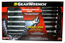GearWrench 16pc Ratcheting Wrench/Spanner Set SAE/MM Tools Mechanic Workshop