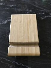 IKEA  Portable Desk Wooden Stand Holder Dock For Smartphone iPhone