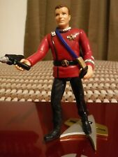 "1994 Playmates Toys Star Trek Captain Kirk action figure toy 5.5"" tall ""EXTRAS"""
